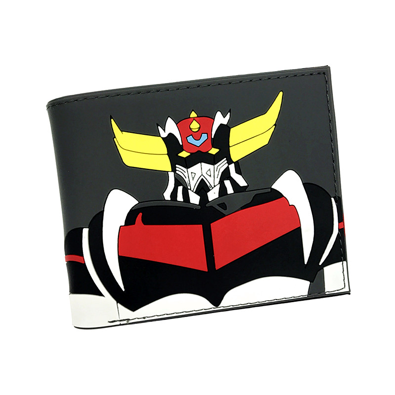New Arrival MAZINGER Z Hatsune Miku Death Note Walking Dead Totoro DC Marvel Cartoon Silica Gel Short Wallet For Young sosw fashion anime theme death note cosplay notebook new school large writing journal 20 5cm 14 5cm