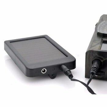 External Solar Powered Panel Charger  Power Supply  for Suntek Hunting Camera HC300M HC350M HC550M HC550G HC700G 4