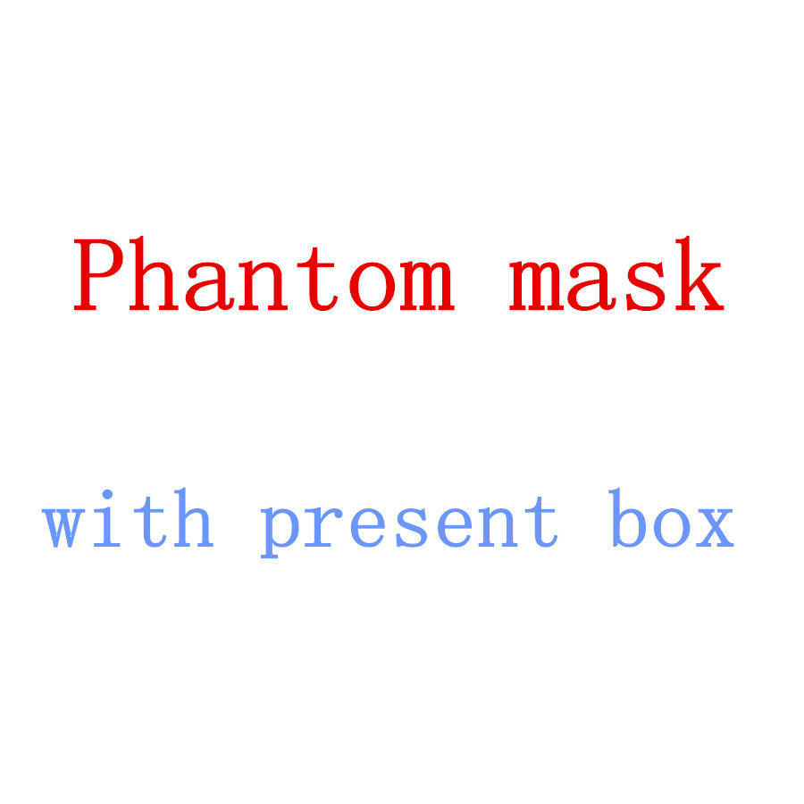 With Present Box Newest Phantom Training Fitness Mask Black Model For Training Sport GYM MMA to Build Your Body  Mask 2.0 2016 newest elevation training mask 2 0 high altitude fitness outdoor sport 2 0 training mask	supplies equipment