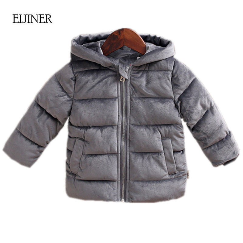 360fa6b3867 Children Winter Coats 2019 New Jackets Girls Kids Boys Coats Fashion  Corduroy Girls Parka coats Thick Warm Children Outerwear-in Down   Parkas  from Mother ...