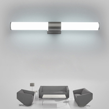 Бра Ванная комната светодио дный зеркало свет Водонепроницаемый 12 Вт 16 Вт 22 Вт AC85-265V светодио дный трубки современный настенный светильник Ванная комната освещение