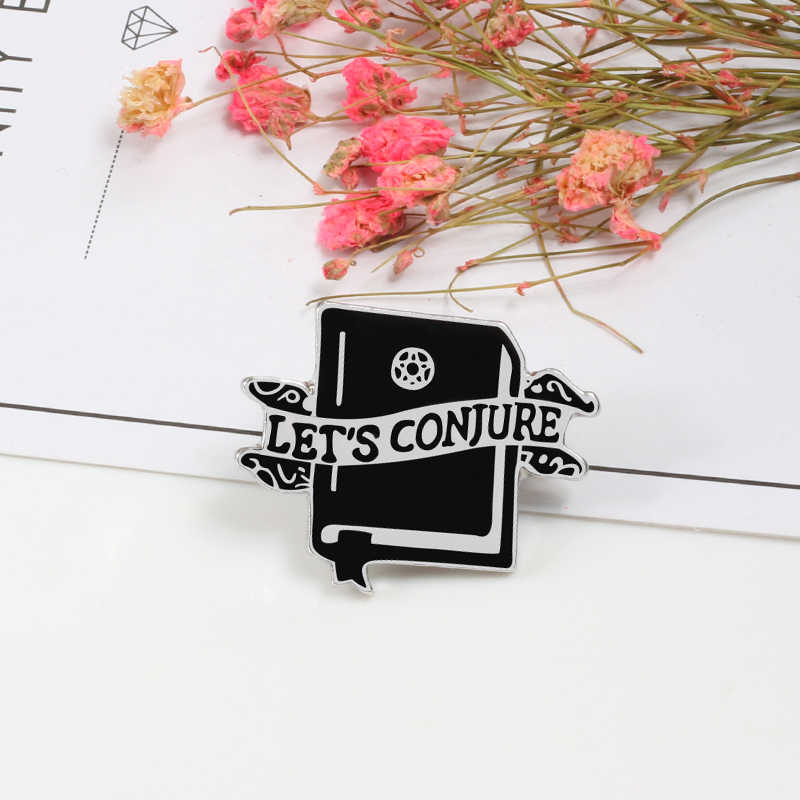 Модный металлический значок булавка буквы Давайте играть кулак лацкан бейдж на булавке панк-куртки броши для рубашек для мужчин и женщин аксессуары подарок