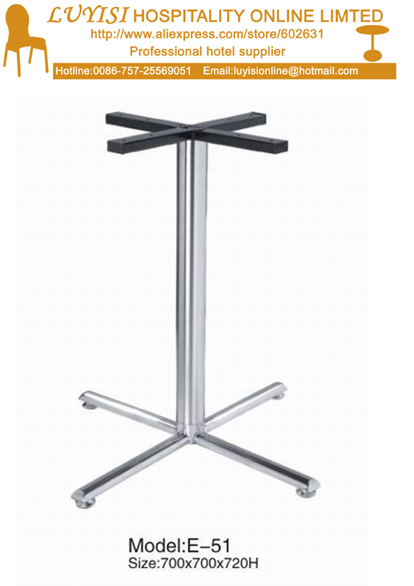 Stainless Steel  Hotel Bar Table Basement
