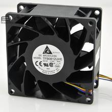 Для Delta TFB0812UHE-5H2L DC12V 2.34A сервер квадратный инвертор осевые вентиляторы охлаждения 80x80x38 мм