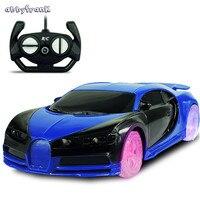 Abbyfrank 1 24 Color Wheel Remote Control Car Mini Model Rc Car Toys For Children Boys
