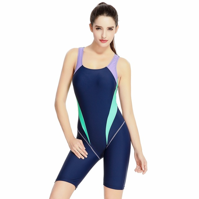 Professional Full body Bathing Suit Women's 2017 Competition One Piece Kneeskin Tech Suit Racing Swimwear Sport Swimming Suit phinikiss printed racing swimwear large size one piece suit professional swimsuit sport bathing suit competition 2016 triathlon