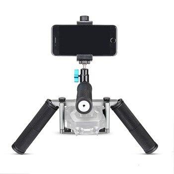Free ship EACHSHOT Cinema Tray Metal Dual Handheld Gimbal Camera Stabilizer Bracket Kit for DJI Mavic Air