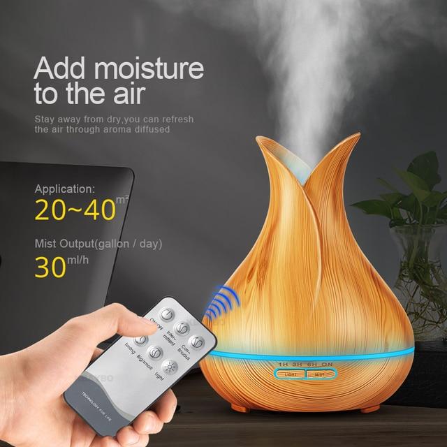 Flower Ultrasonic Aroma Air Humidifier 3