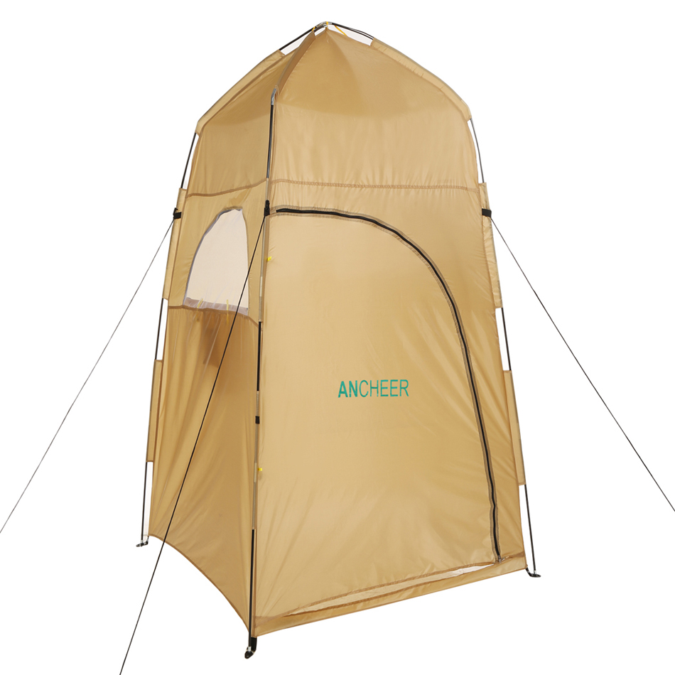 Waterproof Portable Shelter Camping Shower Tent Changing Toilet ...