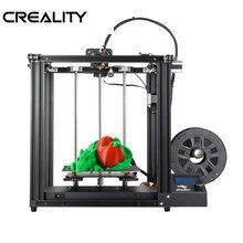 CREALITY Core-XY 3d принтер Ender-5 принтер V1.1.4 материнская плата полностью металлическая рамка с выключением питания, полный 3D-принтер DIY комплект