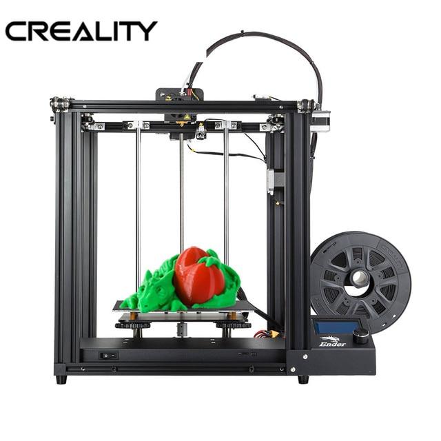 CREALITY Core XY 3d принтер Ender 5 V1.1.4 материнская плата полностью металлическая рамка Ender 5 3D принтер DIY с отключением питания печать