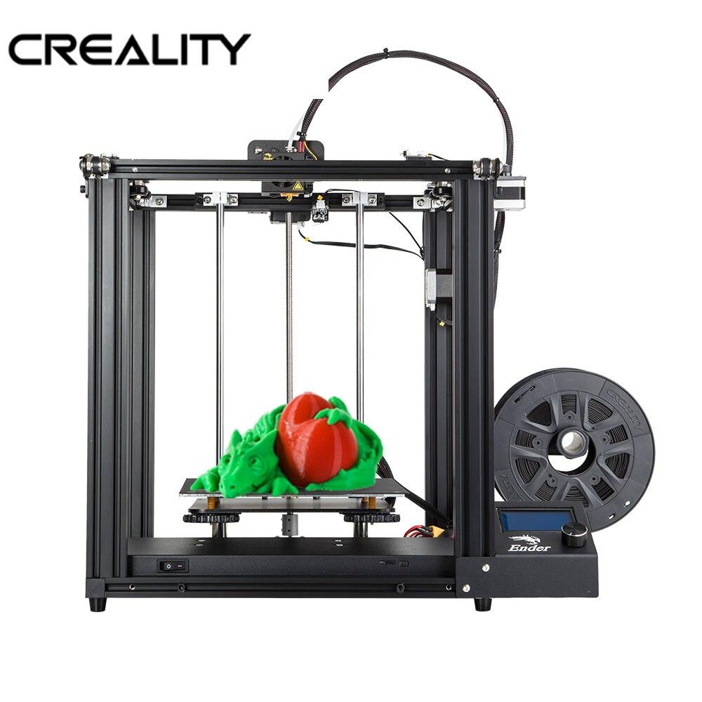 CREALITY Core-XY imprimante 3D Ender-5 imprimante V1.1.4 carte mère cadre métal complet avec mise hors tension cv imprimante 3D kit de bricolage