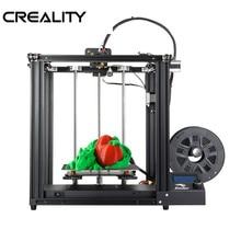 Creality core xy impressora 3d Ender 5 impressora v1.1.4 mainboard quadro de metal completo Ender 5 impressora 3d diy com desligamento de impressão currículo