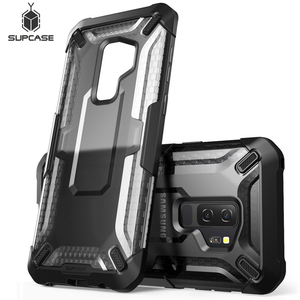 Image 1 - SUPCASE For Samsung Galaxy S9 Plus Unicorn Beetle Series Premium Hybrid Protective Clear Case Back Cover For Galaxy S9+