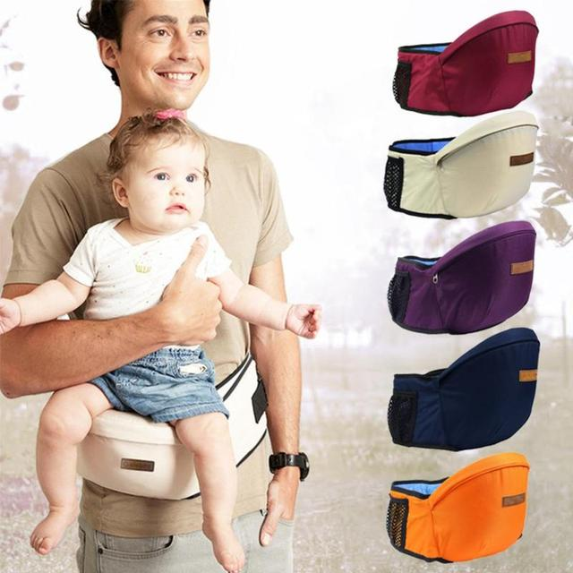 Newborn Baby Carrier Waist Stool Kangaroo Infant Hip Seat Baby Sling Equipped With Pocket Backpacks For Children Dropshipping
