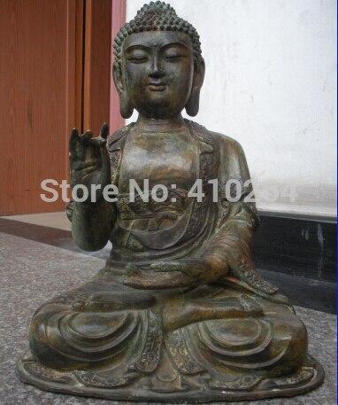17Tibet Buddhism Fane old bronze Sakyamuni Buddha ancestors statue17Tibet Buddhism Fane old bronze Sakyamuni Buddha ancestors statue