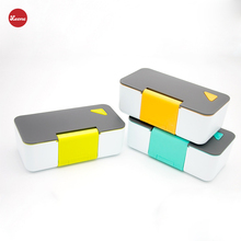1 layer 650ml mobile phone stand airhole Kids school Lunch Boxes boxing Microwave oven Nordic Style Food Containers Bento boxes
