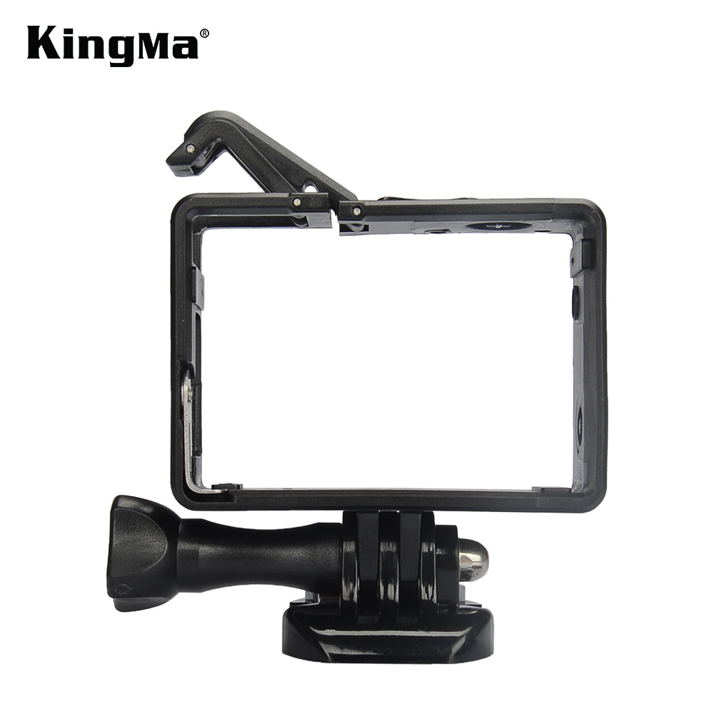 KingMa New Style Gopro Frame With Basic Mount And Long Screw For Gopro Hero 4/3+/3 (Standard and Bacpac frame)