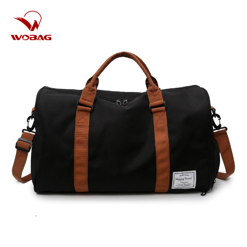 Fashion Large Capacity Men Portable Outdoor Luggage Bag Oxford Couple Travel Bag Women Weekend Sports Fitness Bag