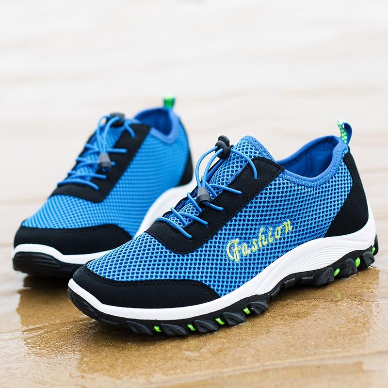 2018 Nuovo arrivo estate morbida luce traspirante scarpe maschili in - Scarpe da uomo