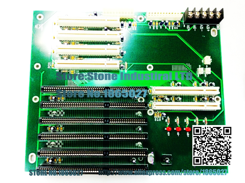 ФОТО Industrial backplane PCI-10S 6AS 4 PCI slots fineness special new physical picture 100% test
