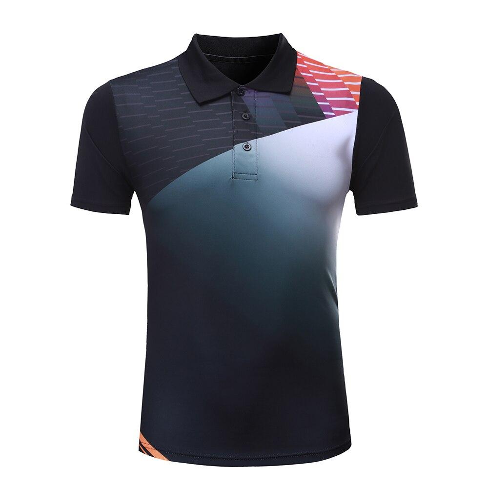 Бесплатная принт Бадминтон футболка Для мужчин/Для женщин, настольный теннис рубашки, спортивные Бадминтон одежда, теннис Футболка 207