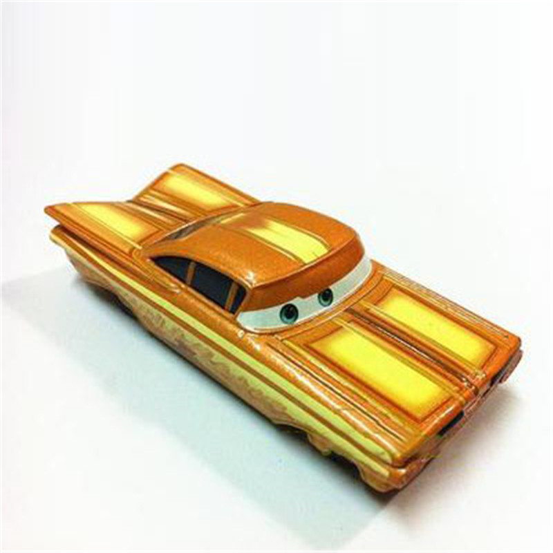 cartoon movie pixar cars yellow diecast road rally ramone metal mcqueen toy car 155 loose retro alloy car toy for kid