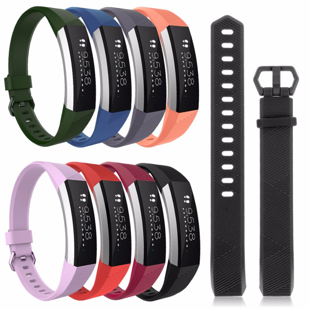 цены Replacement Wristband Band Strap Bracelet Wristband For Fitbit Alta HR Sport High Quality Watch Accessories Bands Straps Watch