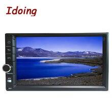Idoing 2 ГБ RAM Рулевого Колеса 7 «Универсальный 2Din Android5.1 Автомобильный Мультимедийный Dvd-плеер GPS 3 Г 1024*600 Радио Видео Headunit Wifi