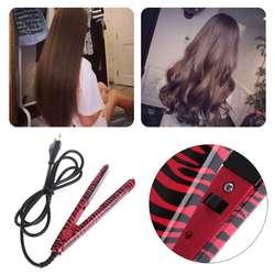 KEMEI Pro Керамика волос выпрямитель Steam бигуди вьющиеся стайлер Утюг для сухой и влажной персональный уход за волосами Приспособления