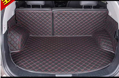 Great Special Car Trunk Mats For KIA Sportage 2015 Durable Waterproof Leather  Luggage Mats For