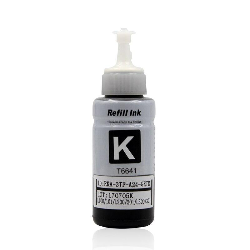 4 Color Dye Based Refill Ink Kit for Epson L100 L110 L120 L132 L210 L222 L300 L312 L355 L350 L362 L366 L550 L555 L566 printer