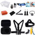 Sport Action Camera Accessories Kit Camcorder DV Sets for Gopro Hero Hero1 2 3 3+ 4 Xiaoyi Yi Speical for Surfing and Diving