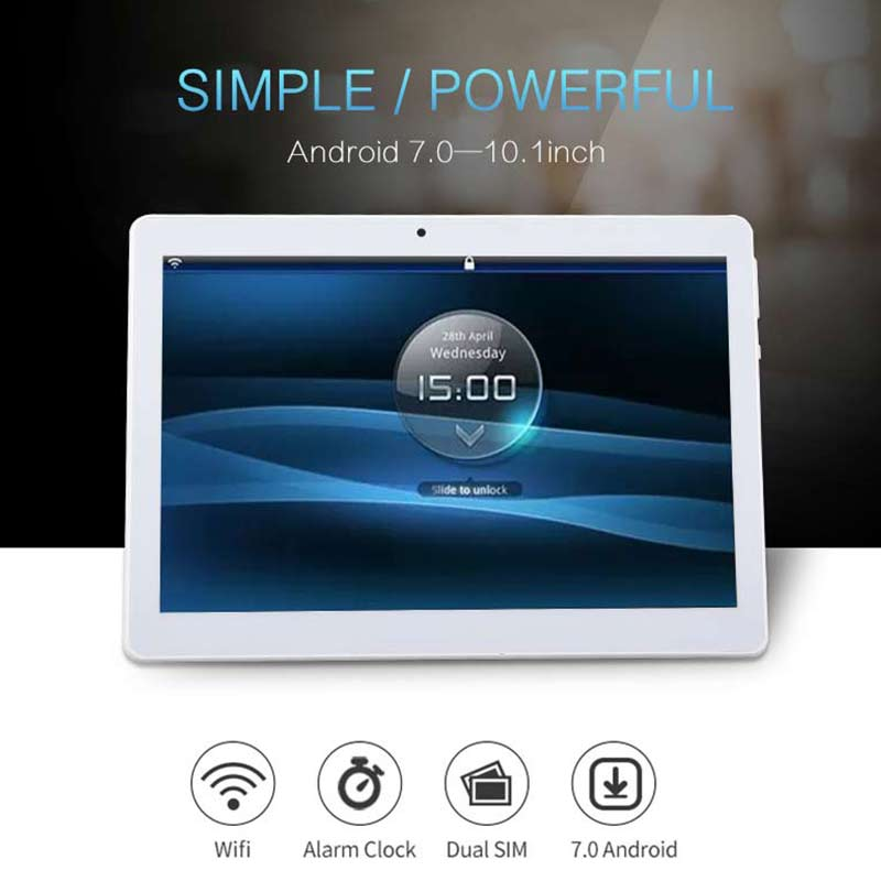 FENGXIANG 10.1 inch 3G/4G Tablets For Android7.0 Octa Core LTE PC Tablets 1920*1280 Resolving Power 8MP 8000mAh Office Tablets