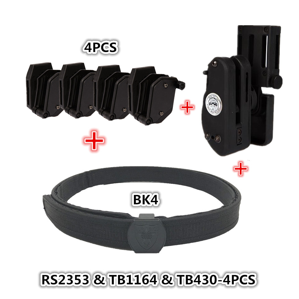Tactical Skirmish IPSC Belt Perfect match with Holster Speed Magazine Pouch Set Competition Shooting Belt Tactical Mag Holster