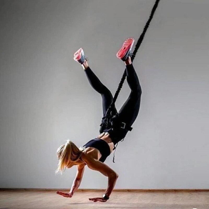 Bungee Dance Fitness Training Aerial Yoga Schnur Pilates Elastische Aufhängung Sling Trainer Pull Seil - 2