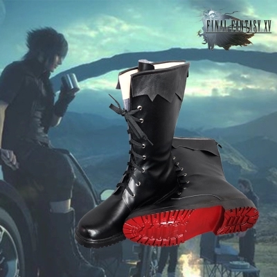 Game Final Fantasy XV FF15 Noctis Lucis Caelum Cosplay Shoes Boots for Men Any Size Custom Made
