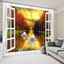 Scenery Curtains popular scenery curtains-buy cheap scenery curtains lots from