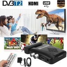 Digital Wireless DVB-T2 H.264 1080P SCART Terrestrial Receiver TV Box IR