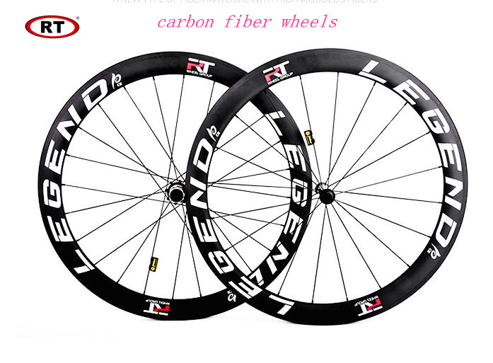 <font><b>RT</b></font> Road Bike Bicycle C38 C50 Racing Competition Wheels Full Carbon Fiber <font><b>Wheelset</b></font> Rim image