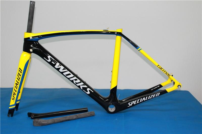 sl5 frame road bike carbon yellow colors cuadros bicicleta carbono ...