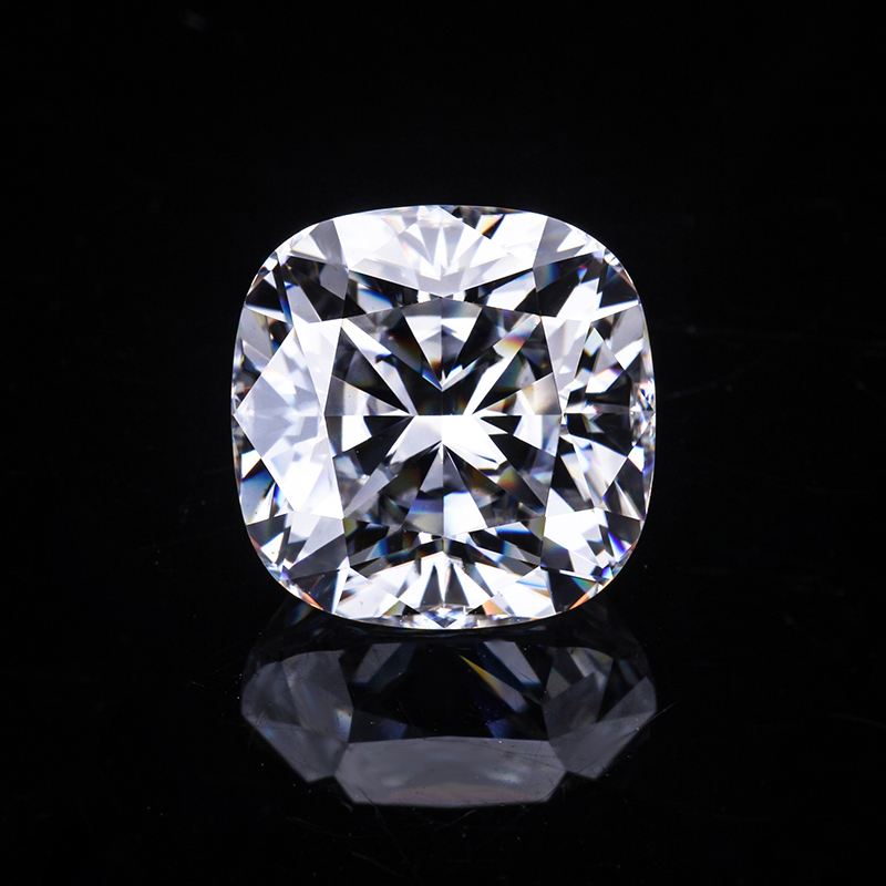 EF white color 6*6 mm modified cushion moissanites ice-crushed loose gems stones for jewelry making