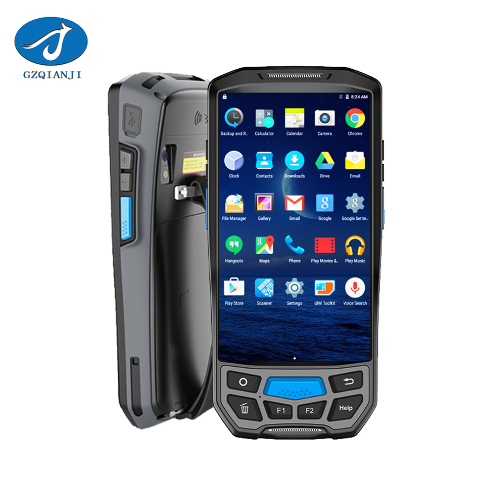 GZPDA02 Industrial Rugged Handheld Data Collector PDA android 2d barcode scanner Wireles ...
