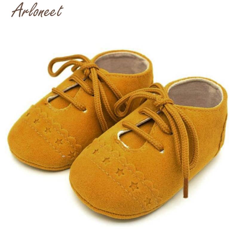 Arloneet Baby Girl First Walkers Baby Boy Toddler Shoes Sneaker Anti-slip Soft Sole Lace Up Shoes l02141 ...