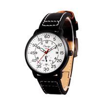 Chaxigo New Waterproof Sport Military Leather Watches relogio masculino Fashion Brand Watch Men's Quartz Watch 2017 Mens Watches