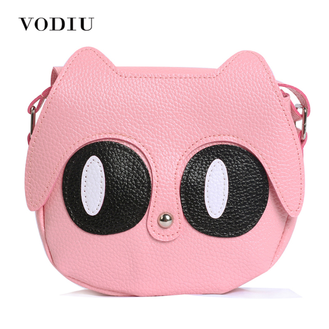 2017 women bag over shoulder handbags crossbody sling leather children cute cartoon print girl small animal - Small Animal Pictures To Print