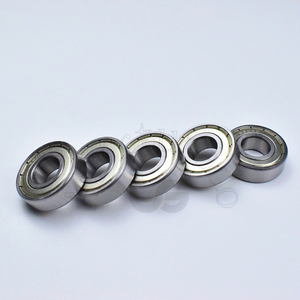 Image 4 - 6202ZZ 15*35*11 (mm) 10 parça ücretsiz kargo rulman ABEC 5 10 Adet metal sızdırmazlık rulmanlar 6202 6202Z 6202ZZ krom çelik rulman