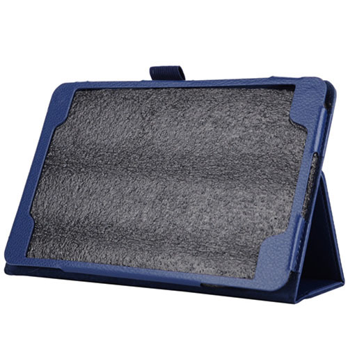 Flip Leather Case Cover Stand for Samsung Galaxy Tab 9 7 A T550 blue