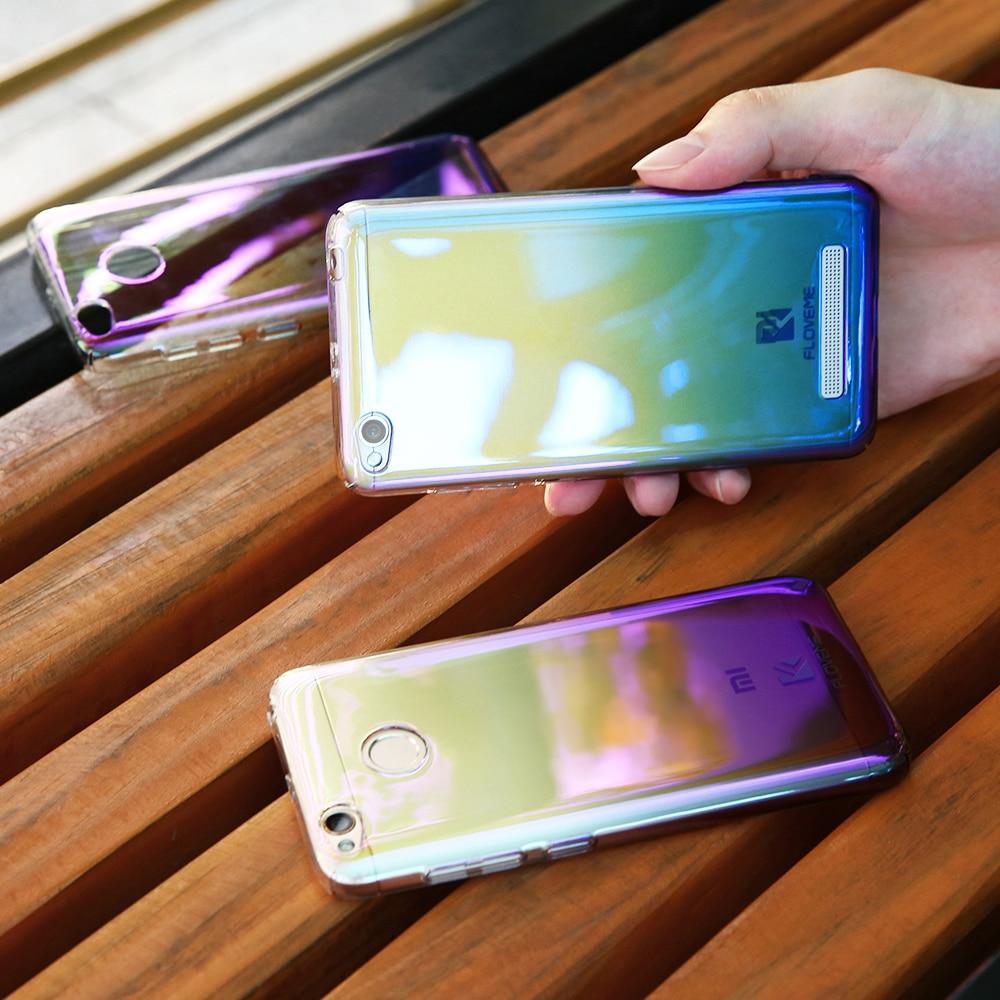 FLOVEME Rainbow Case For Xiaomi Redmi 4X 4A 4 5 6 mi5 mi6 Pr