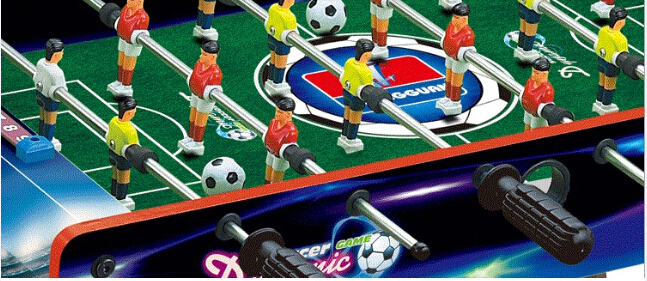 Plastic Pool Table 4 poles Mini Soccer Table mini football soccer table indoor sports game board game for kids